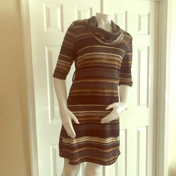 Delirious Dresses & Skirts - Delirious Stripe Sweater Dress XL NEW